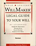 Willmaker 4.0: Make Your Own Legal Will/Book and 3.5 Disk for the MacIntosh