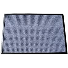 Durable Coporation Polyester Stop-N-Dry Abrasion Resistant Mat, for Indoors and Vestibules, Gray