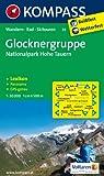Glocknergruppe - Nationalpark Hohe Tauern: Wanderkarte mit KOMPASS-Lexikon, Panorama, Radwegen und alpinen Skirouten. GPS-genau. 1:50000 (KOMPASS-Wanderkarten)