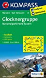 Glocknergruppe - Nationalpark Hohe Tauern: Wanderkarte mit KOMPASS-Lexikon, Panorama, Radwegen und alpinen Skirouten. GPS-genau. 1:50000