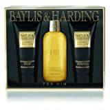 Baylis & Harding Black Pepper & Ginseng 3 Piece Gift Set
