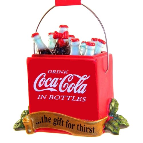 Coca-Cola Cooler Resin Ornament Gift For Thirst front-475025