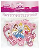 Disney Princess Glow Birthday Party Jointed Banner 1-per package