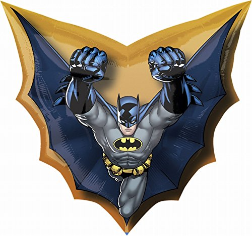 "Batman Cape Super Shape 28"" Foil Balloon - 1"