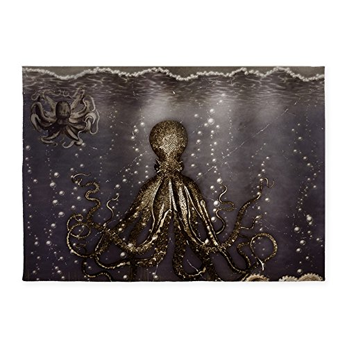 CafePress-Octopus-Lair-Old-Photo-Decorative-Area-Rug-5x7-Throw-Rug