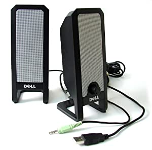DELL A225 USB POWERED MULTIMEDIA COMPUTER SPEAKERS NEW