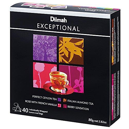 モルディブ・スリランカお土産 ディルマ紅茶 エクセブショナル ティーバッグギフト