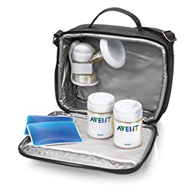 Philips Avent ISIS Manual On the Go Breast Pump - White
