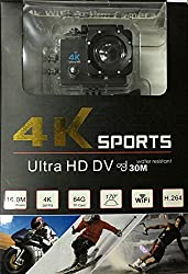 GENERIC 4K WIFI ACTION CAMERA ULTRA HD 16MP EXTREME SPORTS HELMET CAMERA DIVING