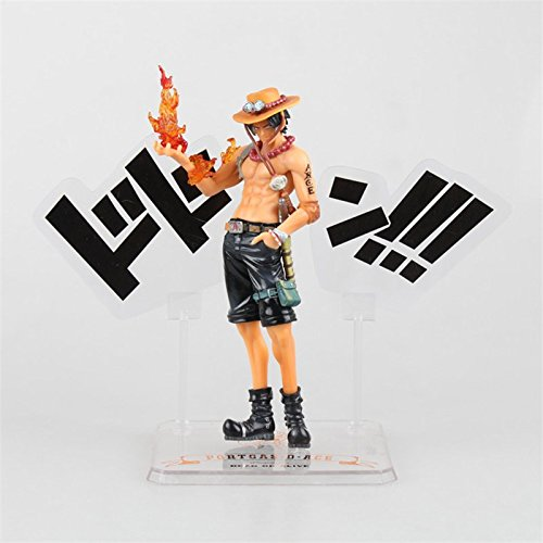 Anime One Piece Cool Juguetes Portgas D Ace 5th Anniversary PVC Action Figure Collectible Model Toy 15cm OPAF018