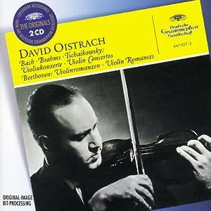 Bach - Brahms - Tchaïkovski : Concertos pour violon - Beethoven : Romances pour violon