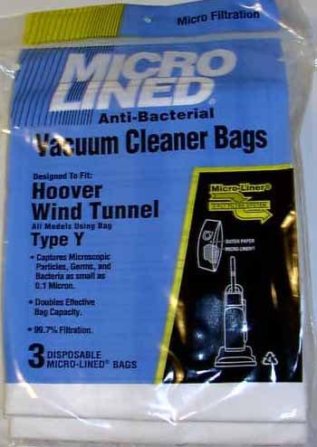 Hoover Type Y Hepa Filter Bag front-79877
