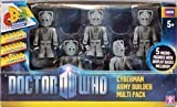 Doctor Who Set Of 5 Cyberman Character Building Army Builder Set Toy