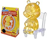 Disney CRYSTAL GALLERY PETIT FRIENDS WINNIE THE POOH 3D Puzzle (YELLOW)