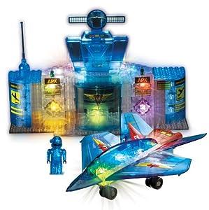 Cra-Z-Art Lite Brix Airport Playset and Plane Vehicle