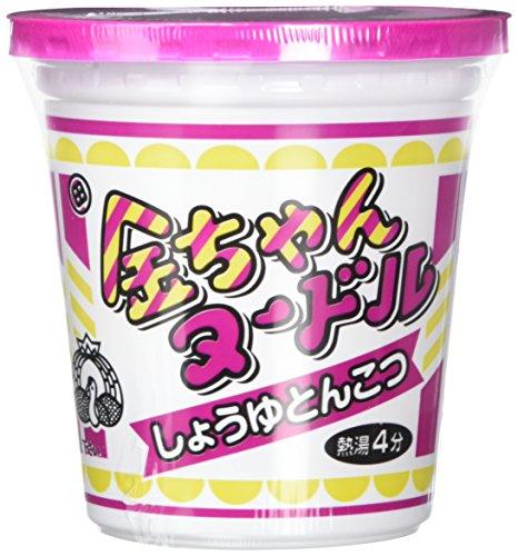 徳島製粉 金ちゃん ヌードルしょうゆとんこつ味 72g×12個