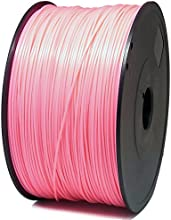 SIENOC 1 paquete de filamento impresora 3D ABS 1.75mm Impresora - Con 1 kg de carrete (Rosado)