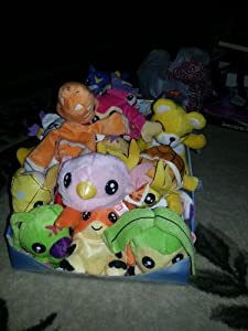 Set of Digimon Plushes VERY RARE (Agumon, Armadillomon, Biyomon, Bukamon, DemiVeemon, Drillmon, Flamedramon, Frigimon, Gabumon, 2 different Gatomons, Gomamon, Hawkmon, Koromon, MarineAngemon, Monzaemon, Palmon, Patamon, Pegasusamon, Piximon, Poromon, Tanemon, Terriermon, Tokomon, Tsunomon, Upamon, Veemon, Wormmon and Veedramon) Also Includes VERY RARE Digimon Digi-Pals Display Box. Some are Bandai manufactured, others are Japan imports. All are VERY hard to find and no longer in production!