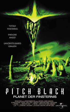 Pitch Black - Planet der Finsternis [VHS]
