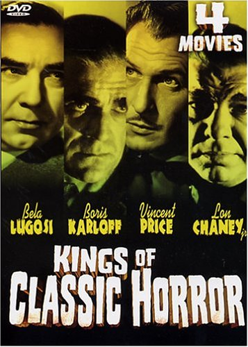 Kings of Classic Horror 4 Movie Pack