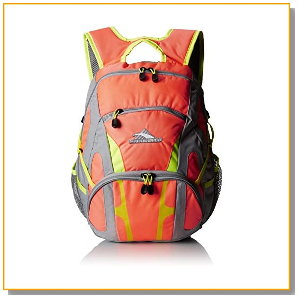 High Sierra Composite Backpack, Peach Fizz/Ash/Zest