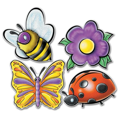 Pkgd Springtime Friends Cutouts   (4/Pkg)