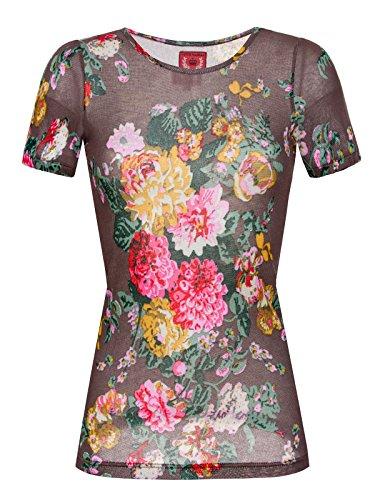 Vive Maria -  T-shirt - Floreale - Donna Multicoloured - Multicoloured 66 (Taglia produttore XS)