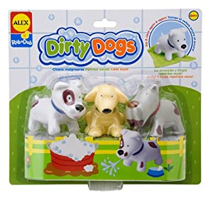 ALEX® Toys - Bathtime Fun Dirty Dogs 825DN