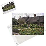 Photo Jigsaw Puzzle of Anne Hathaway s Cottage, birthplace and childhood home of Shakespeare s