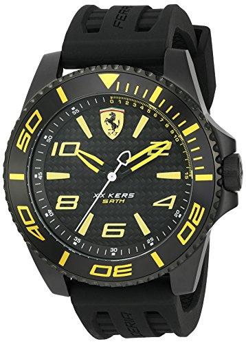 Ferrari De los hombres Scuderia Analógico Casual Cuarzo Reloj 0830307