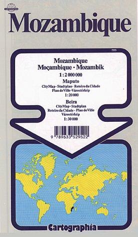 Mozambique (Cartographia World Travel Maps)