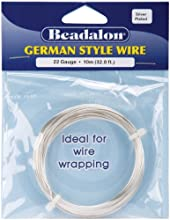 Silver German Style Round 22 Gauge Wire - 328 Feet - Silver German Style Round 22 Gauge Wire - 328 F
