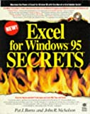 img - for Excel for Windows 95 Secrets (The Secrets Series) book / textbook / text book