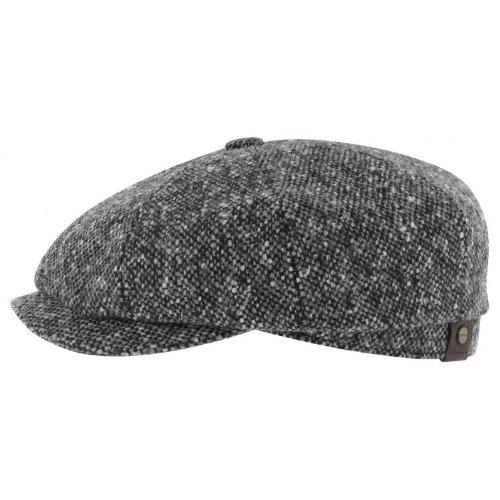 hatteras-donegal-tweed-cap-stetson-tweed-cappellini-62-cm-nero