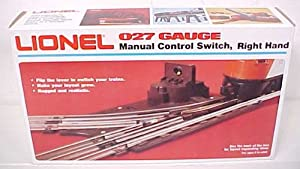 Lionel O-27 Manual Right-Hand Switch