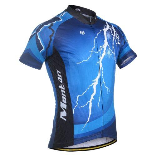 2013 Monton Positive Energy Men'S Outdoor Road Short-Sleeve Biking Cycling Jersey Shirt Cloth Wear (Xxl) front-887809