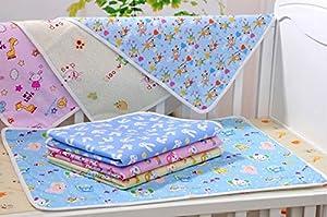 StillCool Bebés y niños pequeños impermeable lavable Cambio de pañales Mat Pad--Color aleatorio marca StillCool
