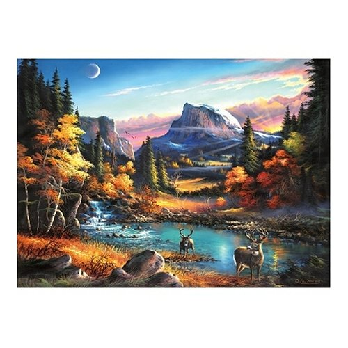 Picture of Sunsout Mountain Morning 1500 Piece Jigsaw Puzzle (B000BXFS08) (Jigsaw Puzzles)