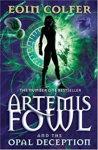 Book Review: The Opal Deception (Artemis Fowl, Book 4), By Eoin Colfer Cover Art