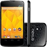LG Google Nexus 4 E960 16GB (GSM Unlocked) Android Smartphone - Black