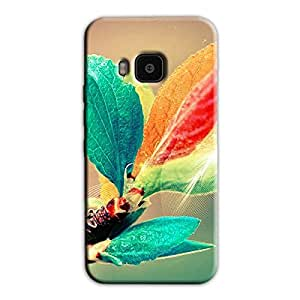 COLORFUL LEAVES BACK COVER FOR HTC ONE M9