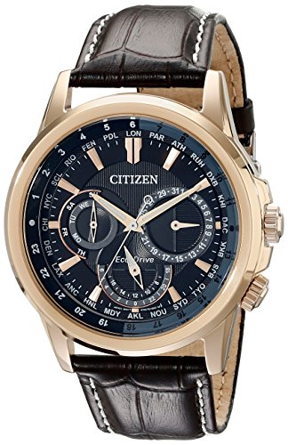 citizen-eco-drive-mens-bu2023-04e-calendrier-gold-tone-watch-with-leather-band