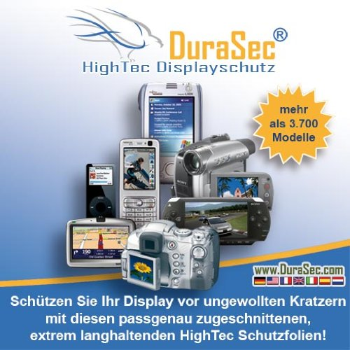 DuraSec HighTec Schutzfolie für Sony PRS505 eBook Reader