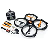 UDI U829A 2.4GHz 4 CH 6 Axis Gyro RC Quadcopter with Camera