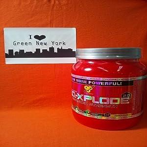 BSN N.O.-Xplode 2.0 Advanced Strength, Lemonade, 2.48 lbs