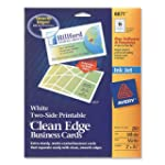 Avery Two-Side Printable Clean Edge B...