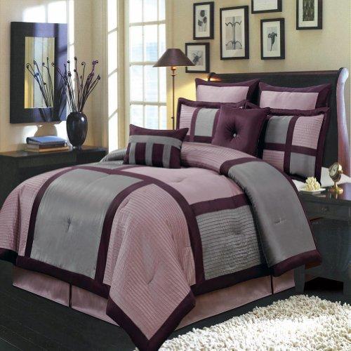 Purple Leopard Bedding