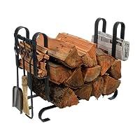 Enclume Design Large Modern Log Rack wit...