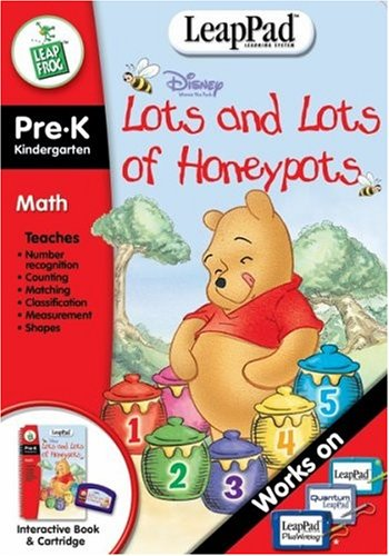 Pre-K & Kindergarten LeapPad Book: Pooh's Lots and Lots of Honeypots - 1