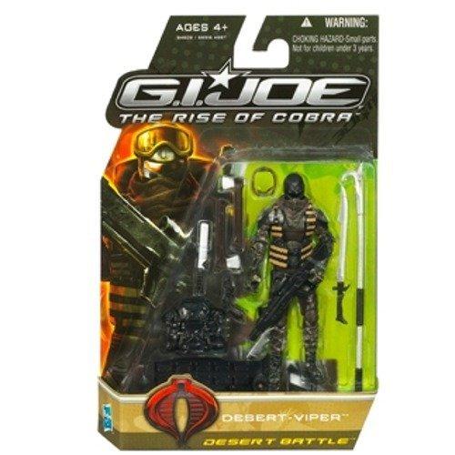 Buy Low Price Hasbro G.I. Joe Movie The Rise of Cobra 3 3/4 Inch Action Figure Desert Viper Desert Battle (B002QWF71C)